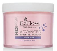 EzFlow HD Cover Pink Powder, 113 г. - камуфлирующая, непрозрачная розовая акриловая пудра
