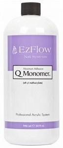 EzFlow Q-Monomer Acrylic Nail Liquid, 946мл.- Акриловая жидкость, ликвид мономер
