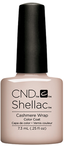 "CND Shellac Cashmere Wrap, 7,3 мл. - гель лак Шеллак ""Обволакивающий кашемир"""
