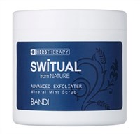 BANDI Switual Advanced Exfoliater - Гель-скраб с минералами и мятой