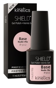 Kinetics Shield Nude Base Coat Natural, 11 мл. - База камуфлирующая натуральная для гель лака Кинетикс