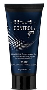 IBD Control Gel White, 56г. – белый полигель для наращивания ногтей Контроль-гель IBD