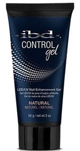 IBD Control Gel Natural, 56г. – камуфлирующий полигель для наращивания ногтей Контроль-гель IBD