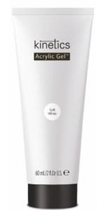 Kinetics Acrylic Gel Soft White PolyGel, 60 мл. - белый полигель для наращивания ногтей Кинетикс
