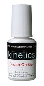 Kinetics Brush on Gel, 7 гр. - клей гелеобразный с кисточкой Кинетикс