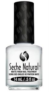 Seche Natural Matte Finish Nail Treatment 14мл. - укрепляющее матовое покрытие для натуральных ногтей