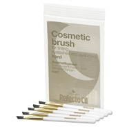 RefectoCil Cosmetic Brush Hard, 5шт. - жёсткие скошенные кисточки для окраски ресниц и бровей