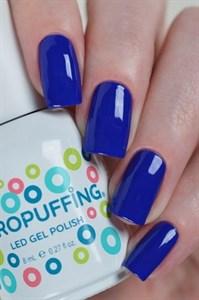 Aeropuffing LED Gel Polish №007, 8мл. - цветной гель лак #007 Аэропуффинг, синий