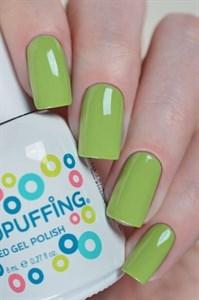 Aeropuffing LED Gel Polish №012, 8мл. - цветной гель лак #012 Аэропуффинг, зелёный