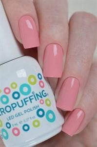 Aeropuffing LED Gel Polish №013, 8мл. - цветной гель лак #013 Аэропуффинг, розовый