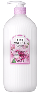 "BANDI Flower Vita Essence Lotion Rose Valley, 1000 мл. - Лосьон для рук и тела ""Долина Роз"""