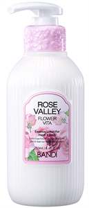 "BANDI Flower Vita Essence Lotion Rose Valley, 250 мл. - Лосьон для рук и тела ""Долина Роз"""