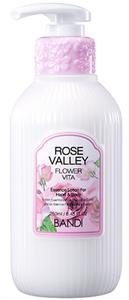 "BANDI Flower Vita Essence Lotion Rose Valley, 250 мл. - Лосьон для рук и тела ""Долина Роз"""
