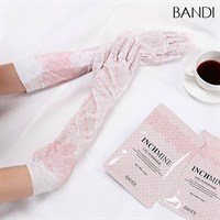"BANDI Inchmine Lace Up Hand Mask - Маска перчатки ""Кружевная"" для рук"