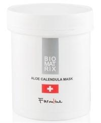 BioMatrix FarmLine Aloe Calendula Mask, 250 мл. - Увлажняющая маска с алоэ-вера и календулой