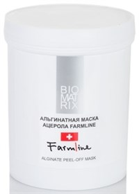 BioMatrix FarmLine Alginate Peel-off Mask, 200 мл. - Альгинатная маска Ацерола