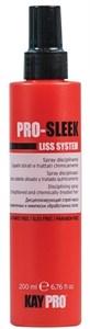 KAYPRO Pro Sleek Disciplining Spray, 200 мл. - спрей маска дисциплинирующий для химически выпрямленных волос
