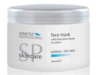 Strictly Facial Mask for Normal & Dry Skin, 450 мл. - Увлажняющая маска для лица, для сухой и нормальной кожи лица