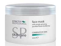 Strictly Facial Mask Combination Skin, 450 мл. - глубоко очищающая маска для комбинированной кожи лица с каолином и женьшенем