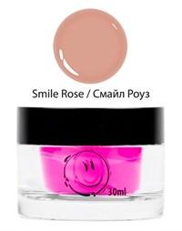 NP Smile Rose Gel, 30 мл.  - однофазный камуфлирующий гель средней вязкости Nano Professional