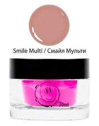 NP Smile Multi Gel, 30 мл.  - однофазный камуфлирующий гель средней вязкости Nano Professional