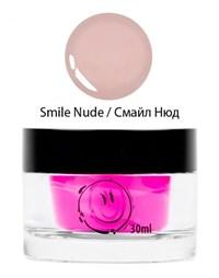 NP Smile Nude Gel, 30 мл.  - однофазный камуфлирующий гель средней вязкости Nano Professional