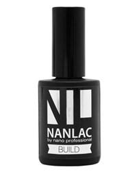 NP NANLAC Build Base Coat, 15 мл. - каучуковая база для гель-лака Nano Professional