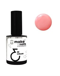 """NP Make Up for Nails BB Cream 3.2, 15 мл. - гель укрепляющий, тональная основа системы """"Макияж ногтей"""""""