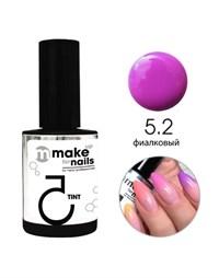 "NP Make Up for Nails TINT 5.2, 15 мл. - гель цветной системы ""Макияж ногтей"""