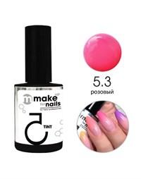 "NP Make Up for Nails TINT 5.3, 15 мл. - гель цветной системы ""Макияж ногтей"""