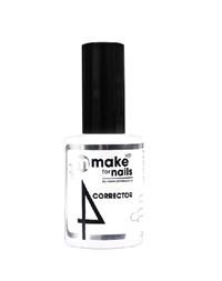 "NP Make Up for Nails Corrector, 15 мл. - гель укрепляющий, прозрачный системы ""Макияж ногтей"""
