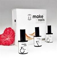 """NP Make Up for Nails LOVE SET - набор укрепляющих гелей системы """"Макияж ногтей"""""""