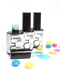 """NP Make Up for Nails TINT SUMMER SET - набор укрепляющих гелей системы """"Макияж ногтей"""""""