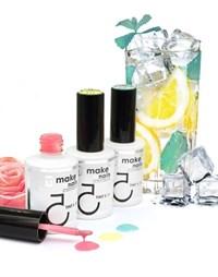 """NP Make Up for Nails TINT FRESH SET - набор укрепляющих гелей системы """"Макияж ногтей"""""""