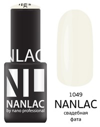"NANLAC NL 1049 Свадебная фата, 6 мл. - гель-лак ""Камуфлирующий"" Nano Professional"