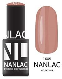 "NANLAC NL 1605 Иллюзия, 6 мл. - гель-лак ""Камуфлирующий"" Nano Professional"