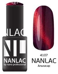"NANLAC NL 4107 Алькасар, 6 мл. - гель-лак ""Кошачий глаз"" Nano Professional"