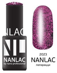 "NANLAC NL 2023 Папарацци, 6 мл. - гель-лак ""Эффект"" Nano Professional"