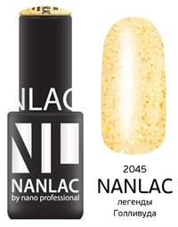 "NANLAC NL 2045 Легенды Голливуда, 6 мл. - гель-лак ""Эффект"" Nano Professional"