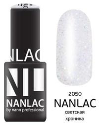 """NANLAC NL 2050 Светская хроника, 6 мл. - гель-лак """"Эффект"""" Nano Professional"""