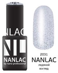 "NANLAC NL 2031 Ледяной взгляд, 6 мл. - гель-лак ""Металлик"" Nano Professional"