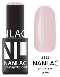 "NANLAC NL 2115 Дамасская роза, 6 мл. - гель-лак ""Мерцающая эмаль"" Nano Professional"