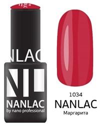 "NANLAC NL 1034 Маргарита, 6 мл. - гель-лак ""Эмаль"" Nano Professional"