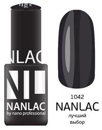 """NANLAC NL 1042 Лучший выбор, 6 мл. - гель-лак """"Эмаль"""" Nano Professional"""