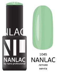 """NANLAC NL 1045 Летняя мечта, 6 мл. - гель-лак """"Эмаль"""" Nano Professional"""