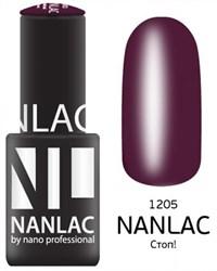 "NANLAC NL 1205 Стоп!, 6 мл. - гель-лак ""Эмаль"" Nano Professional"
