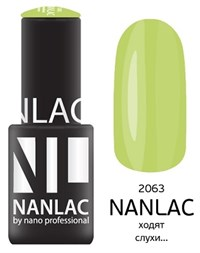 "NANLAC NL 2063 Ходят слухи... , 6 мл. - гель-лак ""Эмаль"" Nano Professional"