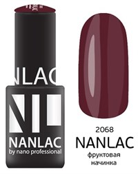 """NANLAC NL 2068 Фруктовая начинка, 6 мл. - гель-лак """"Эмаль"""" Nano Professional"""