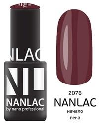 "NANLAC NL 2078 Начало века, 6 мл. - гель-лак ""Эмаль"" Nano Professional"