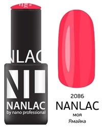 "NANLAC NL 2086 Моя Ямайка, 6 мл. - гель-лак ""Эмаль"" Nano Professional"